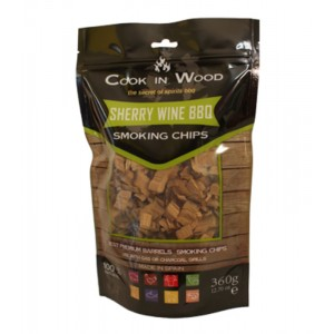 Houtsnippers SHERRY CHIPS - 360g - Cook in Wood