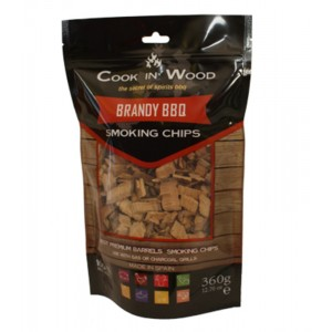 Houtsnippers BRANDY CHIPS - 360g - Cook in Wood