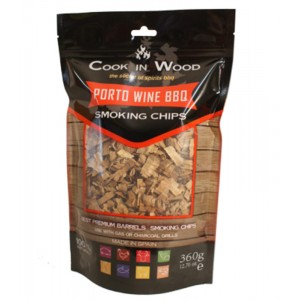 Houtsnippers PORTO WINE CHIPS - 360g - Cook in Wood