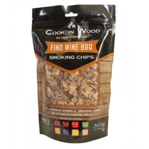 Houtsnippers FINO WINE CHIPS - 360g - Cook in Wood