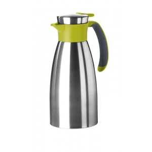 Thermos 1l INOX/GROEN Soft Grip