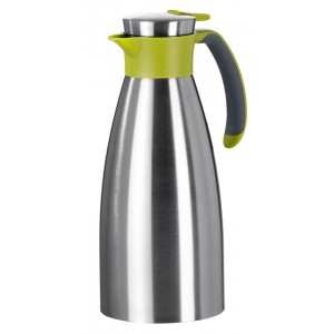 Thermos 1,5l INOX/GROEN Soft Grip