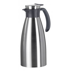 Thermos 1,5l INOX/ZWART Soft Grip