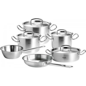 Set Fissler Pro Collection 6-delig met inox deksel