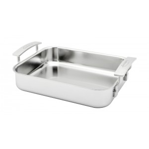 Braadslede INOX 320x265mm - Industry