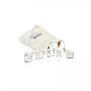 Chill stones crystal - set van 6