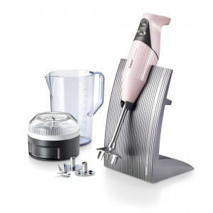 Bamix Swissline 200W BABY PINK - 140mm staaf