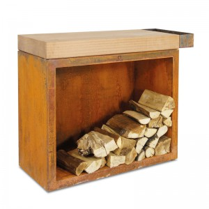 Ofyr Classic Butcher Block Storage ROEST - 900x450x880mm