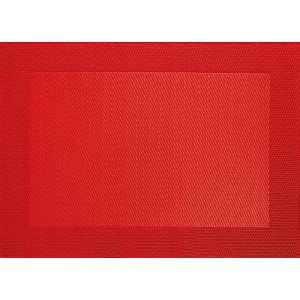 Place-mat PVC ROOD 460x330mm