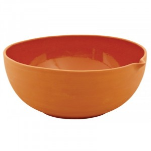 Bowl terracotta RUSTIC RED Ø245xH105mm