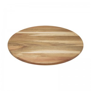 Serveerplank rond Acaciahout 400x400x18mm