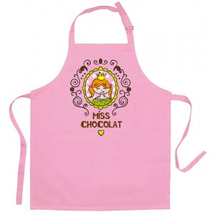 Kinderschort ROZE 630x520mm - Miss Chocolat
