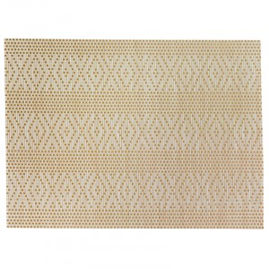 Placemat PVC/Polyester GOUD 450X330mm - Panama