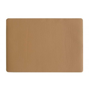 Placemat leder CARAMEL 460x330mm