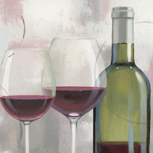 Serviet A Taste of Wine Red - 250x250mm
