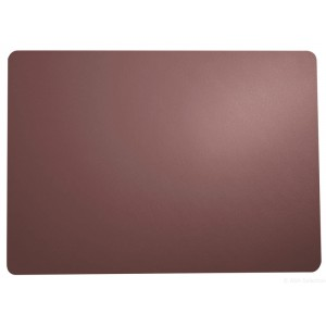 Placemat leder PLUM 460x330mm
