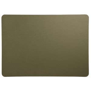 Placemat leder OLIVE 460x330mm