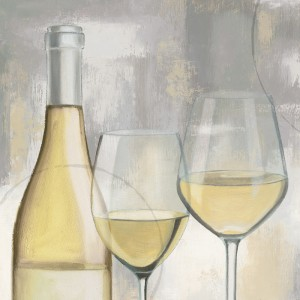 Serviet A Taste of Wine White - 250x250mm