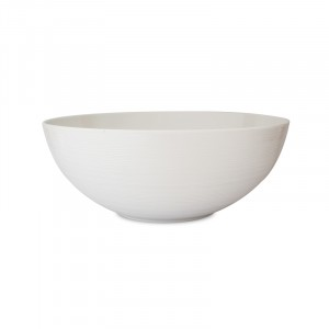 Saladebowl Ø300xH120mm WIT - Fjord