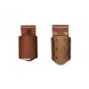 Bottle holder leder COGNAC 210x80mm