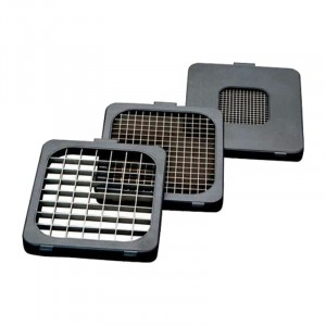 Alligator Attachment SET - rooster 3x3/6x6/12x12mm voor INOX
