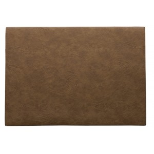 Placemat leder TOFFEE 460x330mm