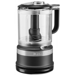 Mini foodprocessor-chopper Kitchenaid 1,2l - MAT ZWART