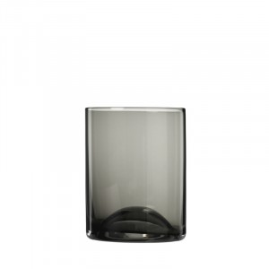 Drinkglas SMOKE - 0,3l - Ø80xH100mm - Wave - 2 stuks