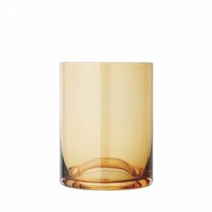 Drinkglas Dull GOLD - 0,3l - Ø80xH100mm - Wave - 2 stuks