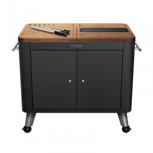BBQ Prep Kitchen ZWART 1012x552x950mm