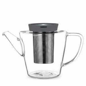 Theepot glas met filter - 1l - Ø132xH135mm - Infusion