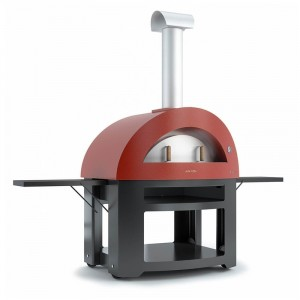 Pizza oven Alfa Allegro - ROOD - 1180x1020x2250mm