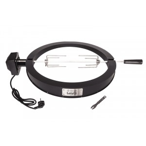 "LetzQ Draaispit elektrisch 18"" voor Big Green Egg Large"