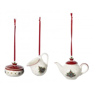 Ornaments coffee set 3 stuks - Toys Delight Decoration