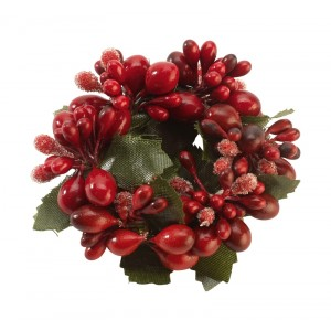 Servetring red berries Ø60mm - Winter Collage Accessoires