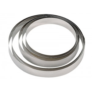 Ring rond inox Ø120mm