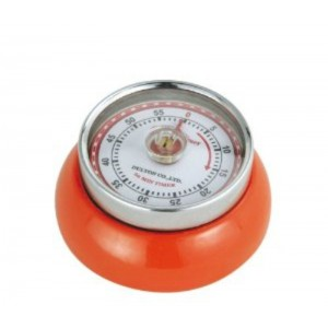 Timer speed retro Ø70mm - ORANJE