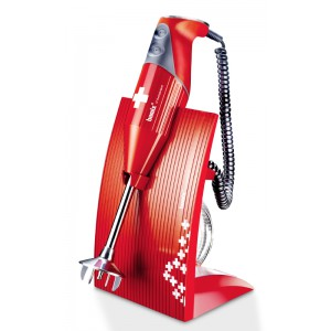 Bamix Swissline 200W ROOD - 140mm staaf