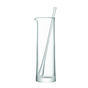 Carafe à cocktail & agitateur 1,1l - TRANSPARENT