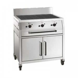 Smeg Barbecue à gaz BQ91C - 900x650x475mm