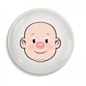 "Assiette enfant ""Mr Food Face"" - Dinner Winner"