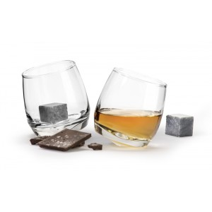 Whisky Set - 2 verres + Chill stones 0,2l