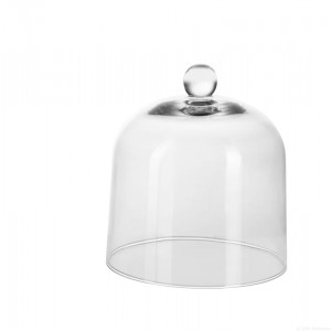 Cloche en verre Ø205mmxH223mm