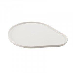 Assiette BLANC 300x240x15mm - Moments