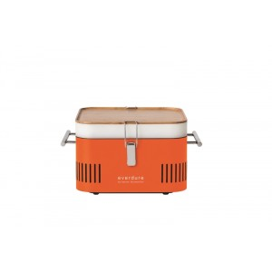 BBQ Charbon de bois - Everdure Cube ORANGE - 384x316x224mm