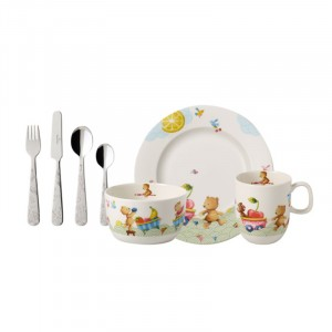 Set enfant poselaine - Hungry as a Bear - 7-pièces