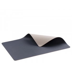 Placemat cuir BLEU/SABLE 460x330mm / par 4 pcs