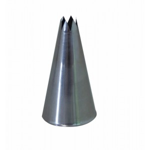 Douille 7mm cannel. 6 dents INOX