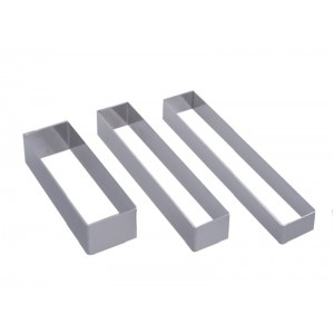 Cercle inox RECTANGLE 160x30mm