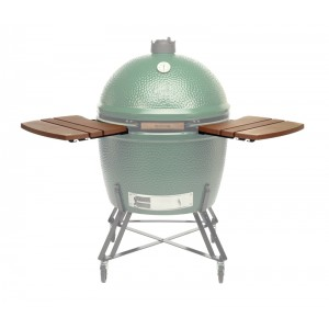 2 plans de travail en bois Green Egg Extra Large